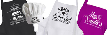 inspiredcreativedesign personalised Aprons