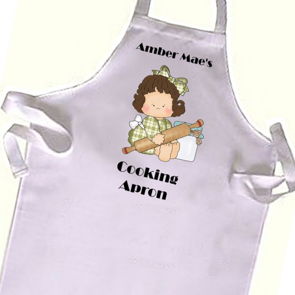 Cute Little cook Kids Cooking Apron. Great Gift For Your Little Girls & Boys