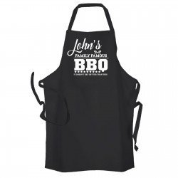 Famous Family BBQ |Personalised Cooking Apron