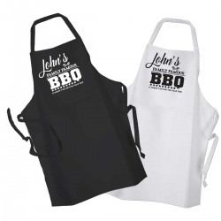 Personalised BBQ & Grill, Family Favourite cooking, Apron.