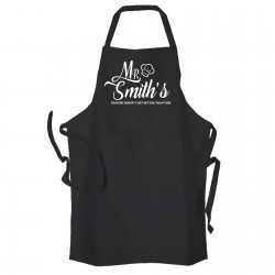 Mr..... Personalised Cooking Apron, Have your name on you apron.