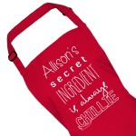 The secret ingredient is always Design Personalised Colour Ladies Quality Apron