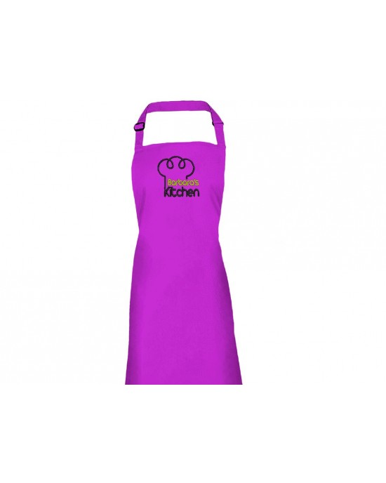 Personalised Embroidered Adult Cooking Apron. Kitchen Chef ...