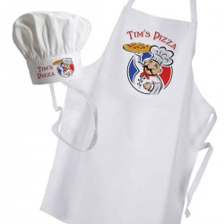 Pizza Baker Chef Personalised Cooking Pizza Oven Apron.