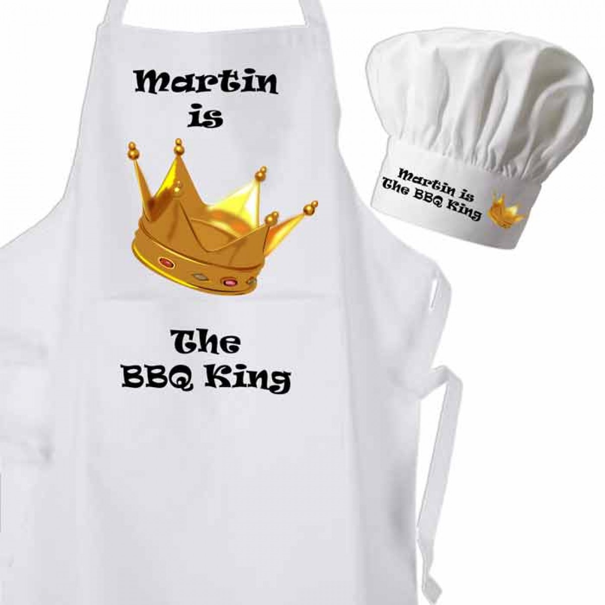 White apron and chef hat - White Apron And Chef Hat 29