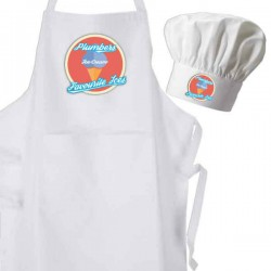 Ice Cream Apron & Chef Hat Set.