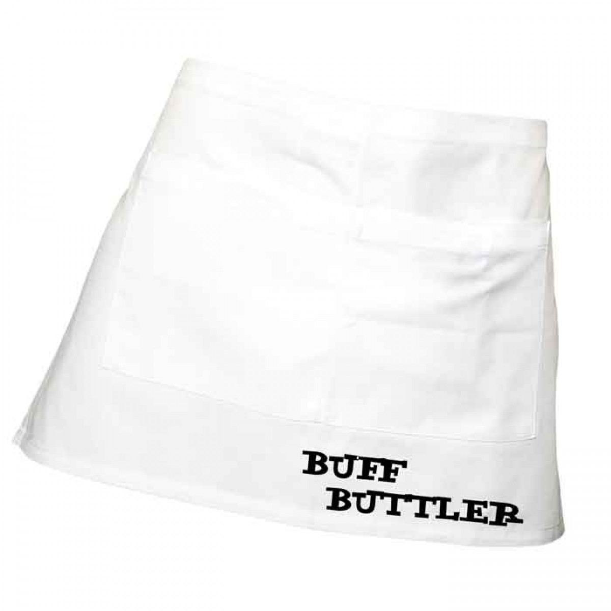 White apron meals - Mens Fun Buff Butler Apron Add Spice To Your Meals 100 Cotton Black Or White