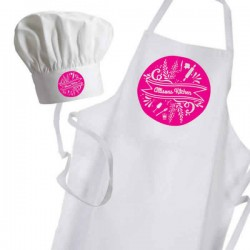 Personalised Apron. Ladies Fun Chef Kitchen Cooking Dinner, Christmas Gift