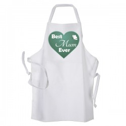 Best Mum Kitchen, Personalised Apron. Ladies Fun Chef Kitchen Cooking Dinner, Christmas Gift