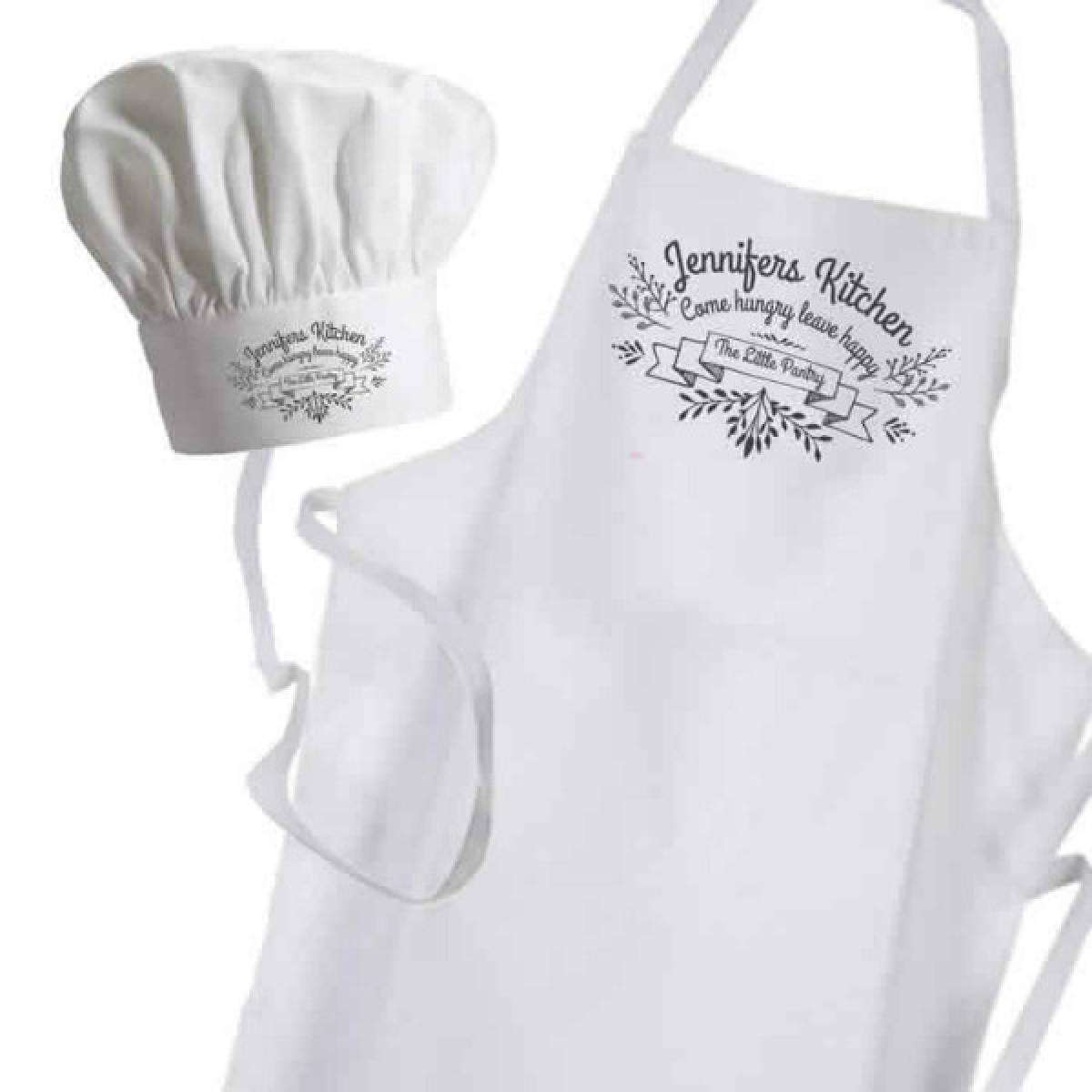 White apron ladies - Ornamental Kitchen Personalised Apron Ladies Fun Chef Kitchen Cooking Dinner Christmas Gift