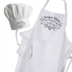 Ornamental Kitchen, Personalised Apron. Ladies Fun Chef Kitchen Cooking Dinner, Christmas Gift