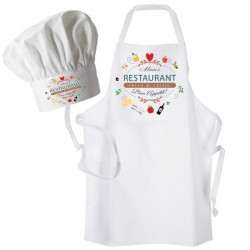 Restaurant Dinner, Personalised Apron. Ladies Fun Chef Kitchen Cooking Dinner, Christmas Gift