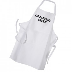 Camping Chef Personalised Apron Black Or White