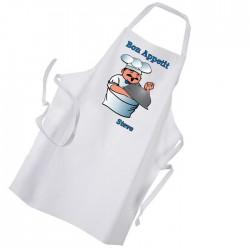 Bon Appetite Premium Mens Apron. Barbeque Cooking Kitchen Chef Personalised FunGift Idea