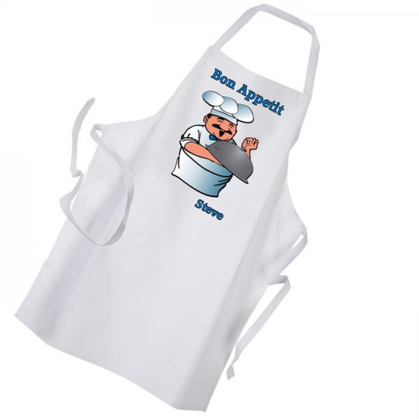 Bon Appetite Premium Mens Apron. Barbeque Cooking Kitchen Chef Personalised FunGift Idea
