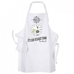 Gin And Tonic Time Personalised Apron.
