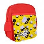 Bumble Bee Personalised Kids Back-Pack, Ruck Sack. Great For pre-School or school