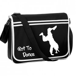 Got To Dance, Street Dance Personalised Gift Messenger / School / Sleepover Bag.