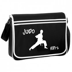 Judo, Sport Personalised Gift Messenger / School / Sleepover Bag.