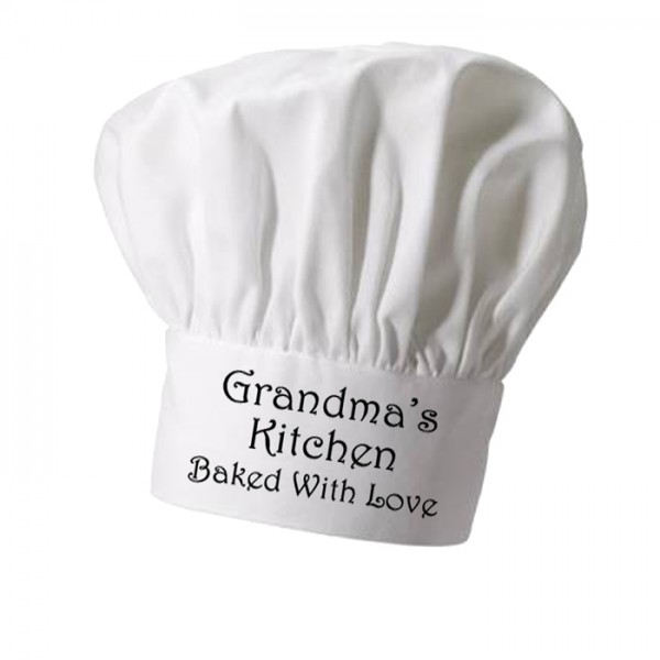 Grandmas Cooking Personalised Chef Hat