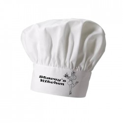 Lady Chef, Cake, Cooking Personalised Chef Hat. Christmas Gift, Present