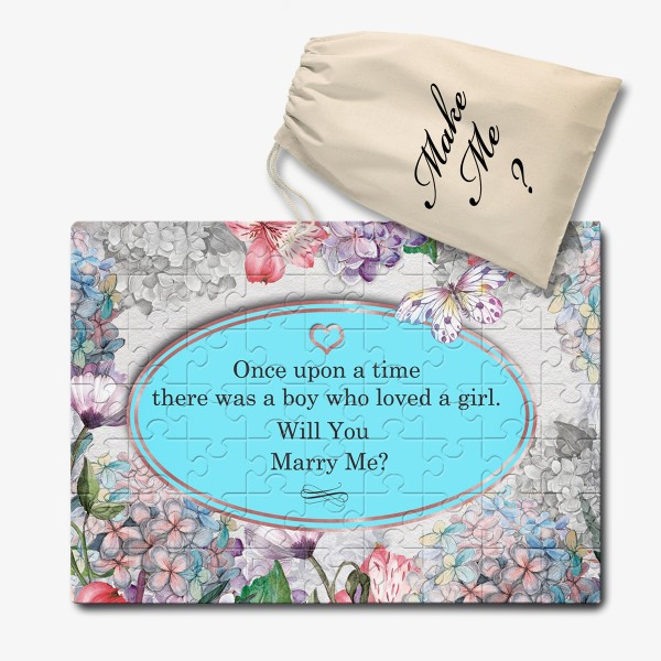 Personalised Will you marry me, jigsaw puzzle