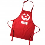 Halloween Glow in the dark cooking apron. A personalised  novelty party food apron for your kids, Colour variations.