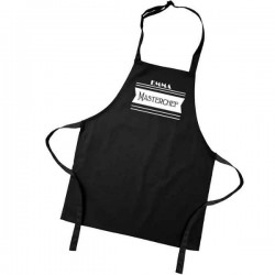 Kids Master Chef Coloured Aprons. Colour variations. Have Your Childs Name printed