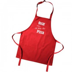 Kids Worlds Best Coloured Apron. Colour variations.