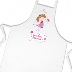 Flower Girl Kids Apron. Great Gift For Your Little Flower Girls