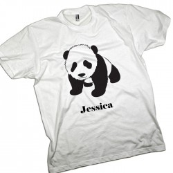 Panda Personalised T-Shirt.