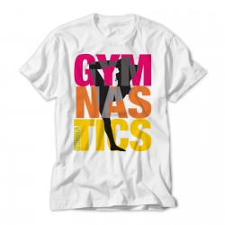 Gymnastics Colourful Personalised T-Shirt