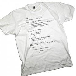 Kids Fun Computer Geek Code Personalised T-Shirt