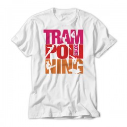 Trampolining Colourful Large print Design Personalised Kids T-Shirt
