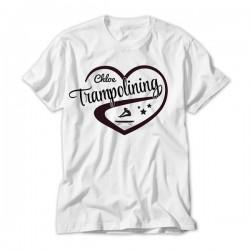 Love Trampolining Design Personalised Kids T-Shirt