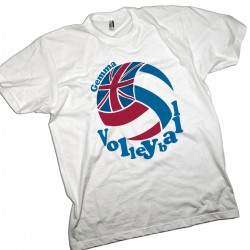 Volleyball Personalised UK Flag Design Kids T-shirt