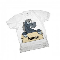 Horse Equestrian Personalised T-Shirt