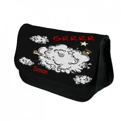 Comic Cloud Personalised Pencil Case / Make Up Bag. Birthday / Christmas Gift Idea
