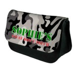 Black & White Camouflage Personalised  Bag Perfect Gift Idea for Her. Birthdays, Christmas, Stocking Filler