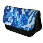 Blue Camouflage Personalised  Bag Perfect Gift Idea for Her. Birthdays, Christmas, Stocking Filler