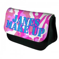 Pink Camouflage Personalised  Bag Perfect Gift Idea for Her. Birthdays, Christmas, Stocking Filler
