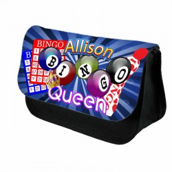 Bingo Case Personalised Bag Perfect Gift Idea for Her. Great Present for Birthdays Christmas.