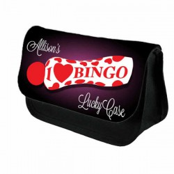 Love Bingo Case Personalised Bag Perfect Gift Idea for Her. Great Present for Birthdays Christmas.