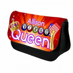 Bingo Queen Case Personalised Bag Perfect Gift Idea for Her. Great Present for Birthdays Christmas.