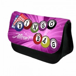 Bingo Bag Case Personalised Bag Perfect Gift Idea for Her. Great Present for Birthdays Christmas.