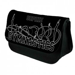 Gymnastic Tumble Personalised Make Up Bag Perfect Gift Idea for Her, Birthdays Christmas.