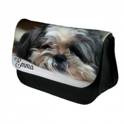 Lhasa Apso Cute Dog Personalised Make Up / Cosmetic Bag / Pencil Case For School