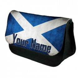 Scotland Personalised Make Up Bag Perfect Gift Idea for Her. Wedding Favours Birthdays Christmas.