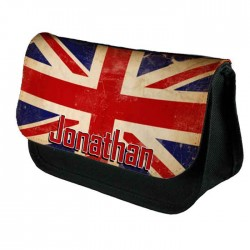 England, English, Personalised Make Up Bag Perfect Gift Idea for Her. Wedding Favours Birthdays Christmas.