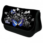Beautiful Butterfly Personalised Pencil Case / Make Up Bag. Birthday / Christmas Gift Idea